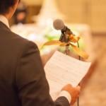 結婚式での友人のスピーチは紙を見ながらだと駄目?用紙はどんなの?